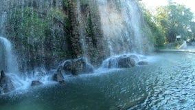 Der Wasserfall Kaskade Du Casteu in Castel Hill stock video