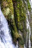 Der Wasserfall von Strbacki-buk lizenzfreies stockbild