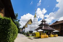 Der Wat Duang Di-Tempel in Chiang Mai, Thailand Lizenzfreie Stockbilder