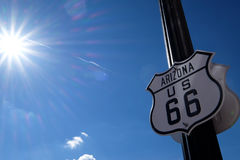 Der Weg 66 Lizenzfreie Stockfotografie