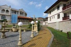Der Weg auf der Str. Vlas. Bulgarien. Lizenzfreie Stockfotografie