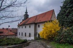 Der Weg in Novi Sad Stockfotografie