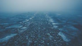 Der Weg von emotionalen Entscheidungen Stockbild