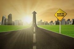 Der Weg zum Erfolg Lizenzfreie Stockfotos