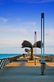 Der Weg zum Meer Stockfotografie