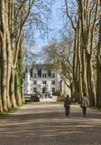 Der Weg zum Schloss Lizenzfreies Stockfoto