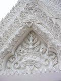 Der weiße Bogen am Marmortempel, Bangkok Thailand à¸Ÿà¸žà ¹  à ¹ ‰ Lizenzfreies Stockbild