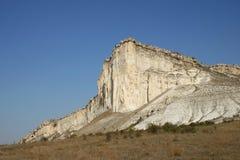 Der weiße Felsen Lizenzfreies Stockbild