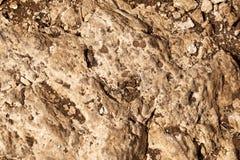 Felsen u. Boden-Zusammenfassung Stockfotos