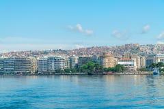 Der weiße Turm des Symbols und des Marksteins Saloniki-Stadt stockfotografie