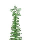 Der Weihnachtsbaum Lizenzfreie Stockfotos