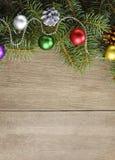 Der Weihnachtshintergrund Stockfoto