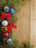 Der Weihnachtshintergrund Stockfotos