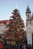 Der Weihnachtsmarktschönheit Europas München neues Jahr Stockfotografie