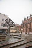 街市诺伊施塔特der Weinstrasse 免版税库存图片