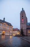 街市诺伊施塔特der Weinstrasse 免版税库存照片