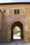 Der Weinturm von Alhambra Palace, in Granada, Andalusien, Spanien Stockbilder