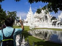 DER WEISSE TEMPEL, CHIANG RAI, lizenzfreie stockfotografie