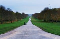 Der weite Spaziergang bei Windsor, Großbritannien lizenzfreies stockfoto