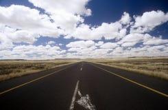 Der weite Weg Lizenzfreies Stockfoto