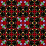 In der Welt von sehr interessanten mehrfarbigen Mustern stockfoto