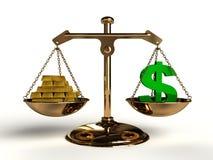 Der Wert des Geldes. lizenzfreie abbildung