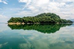 Der Westsee von Lushan Stockfotografie