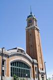 Der Westseiten-Markt-Kontrollturm Stockfoto