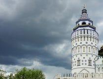 Der wieder aufgebaute Palast der russischen Zare lizenzfreie stockfotografie