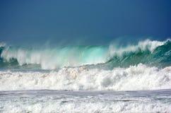 Der wilde stürmische Indische Ozean lizenzfreie stockfotografie