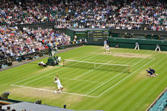 Der Wimbledon-2012 Männer Schluss halb Stockbild