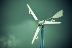 Der Windgenerator Stockfotografie