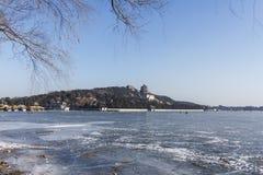 Der Winter des Sommer-Palastes stockbild