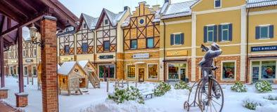 Der Winter in Kiew Lizenzfreie Stockfotos