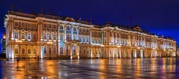 Der Winter-Palast im St Petersburg, Russland Lizenzfreie Stockfotos