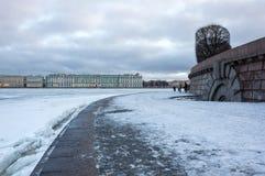 Der Winter-Palast in St Petersburg Lizenzfreie Stockfotografie