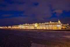 Der Winter-Palast in St Petersburg Lizenzfreies Stockfoto