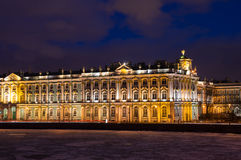 Der Winter-Palast in St Petersburg Stockfotos