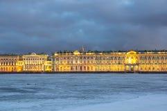 Der Winter-Palast in St Petersburg Lizenzfreie Stockbilder