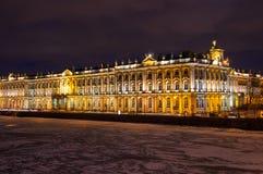 Der Winter-Palast in St Petersburg Stockbilder