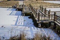 Der Winter See,  Beijing stockfoto