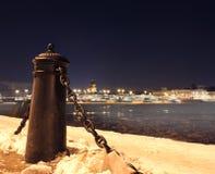 Der Winter von St Petersburg, Russland stockfoto