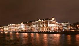 Der Winterpalast in St Petersburg Stockfotos
