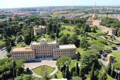 Der Wohnsitz von Papst Stockbild