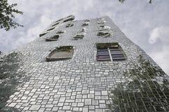 Der Wolkenkratzer des tarots Gartens Lizenzfreies Stockfoto