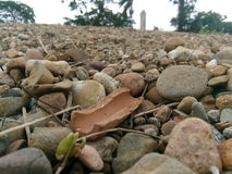 Der wunderbare Stein stockbild