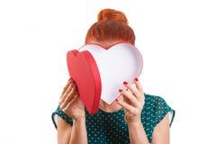 Der Wunsch des Valentinsgrußes Stockfoto