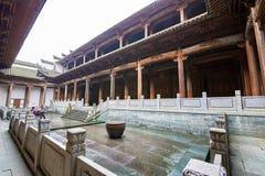 Der Xiaojiang-Clan-Halle Adytum Stockfotos