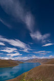 Der Yang-See (Yamzhog Yumco) lizenzfreie stockfotografie