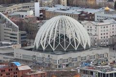 Der Yekaterinsburg-Staatszirkus Russland stockfotografie